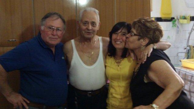 Franceso, Rita, & me