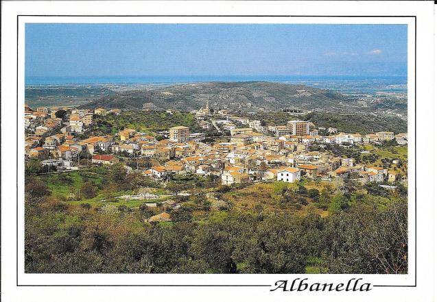 Post Card of Albanella, Italy