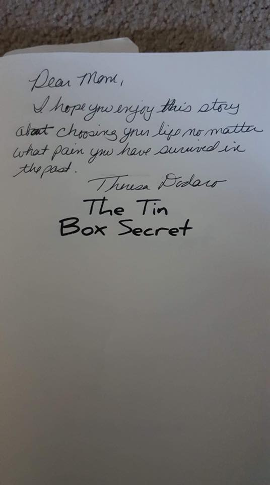 The Tin Box Secret Inscription